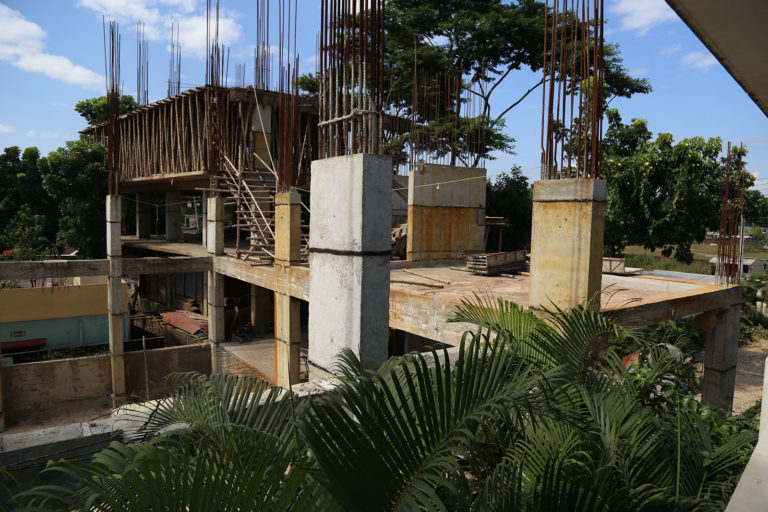 Under Construction Swimming Pool, Banquet Hall and Guest Room